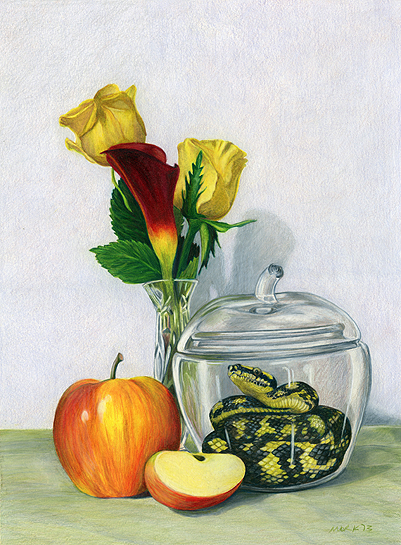 Mork-still-life-with-apple-jaar